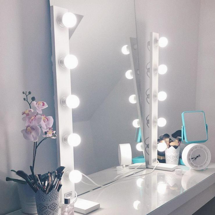 Extrem Hollywood Spiegel LED Lampen - Beleuchtung für Schminktisch in FM89