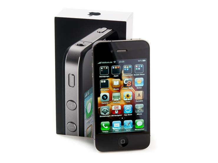 Apple iPhone 4S schwarz OVP Neuwertig