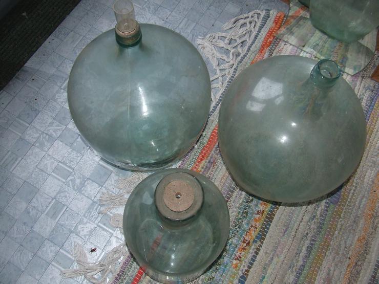 Glasballons zu verkaufen