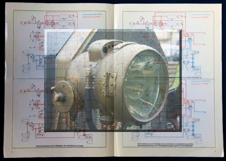 Bild 2: Graubremse, 70er Jahre, Zweileitungs - Zweikreis Bremsanlage, Beschreibung, Zugw, Anhänger,