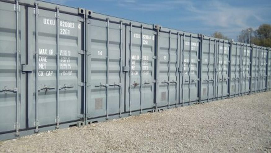 Lager-Garage-Container-Archiv Miniwerkstatt mit Licht und Strom