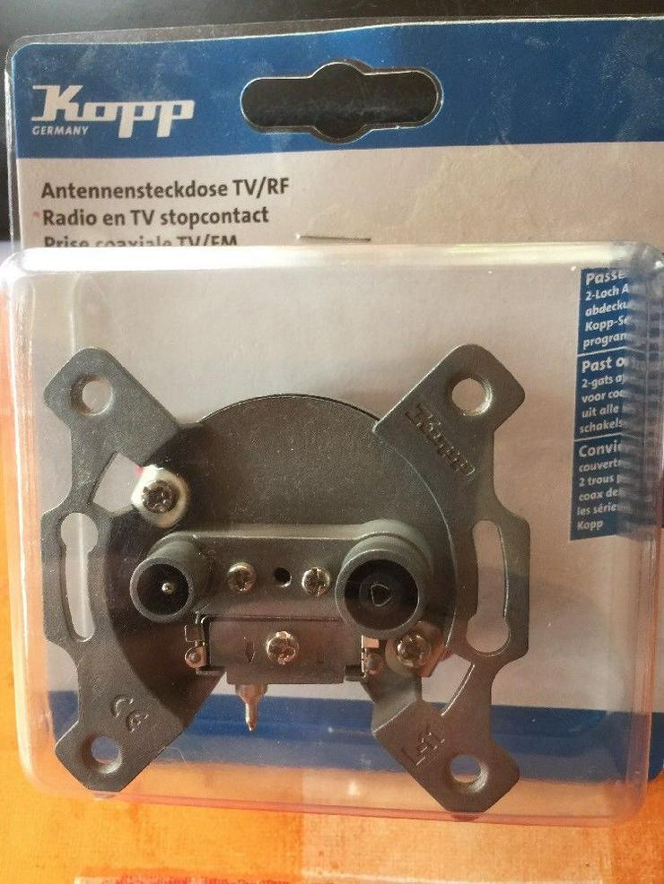 Kopp Antennensteckdose TV/RF