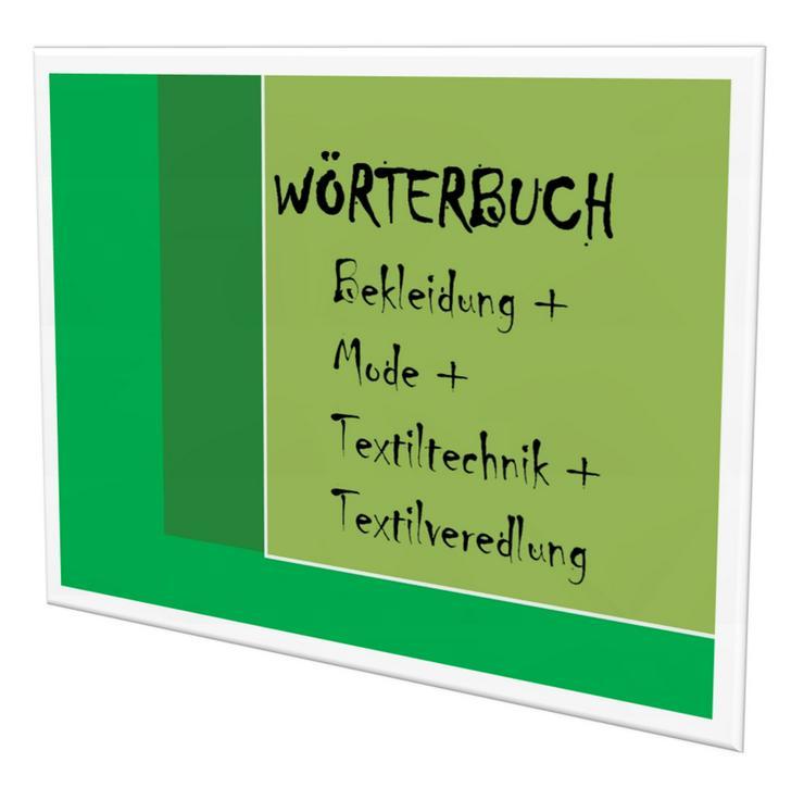 Produktgestalter-Textil + Maschinen-und Anlagenfuehrer: Begriffe-Uebersetzung deutsch-englisch