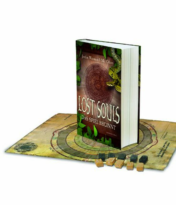 Lost Souls-Das Spiel beginnt; Spielbrett u. Figuren