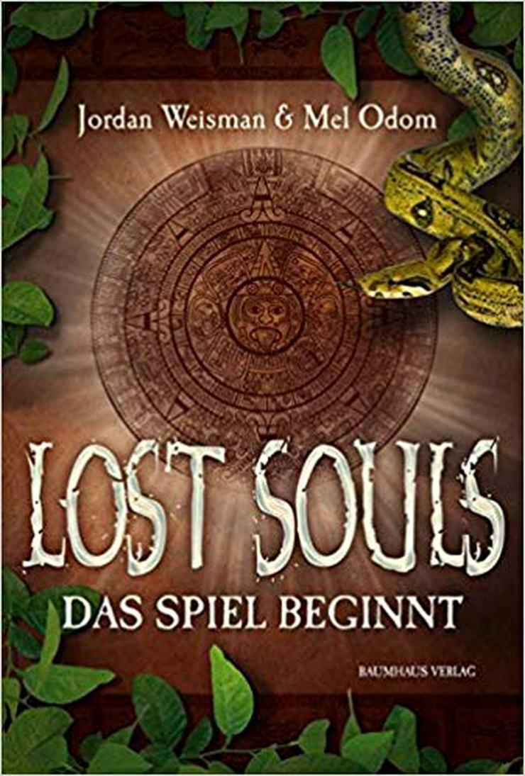 Bild 2: Lost Souls-Das Spiel beginnt; Spielbrett u. Figuren