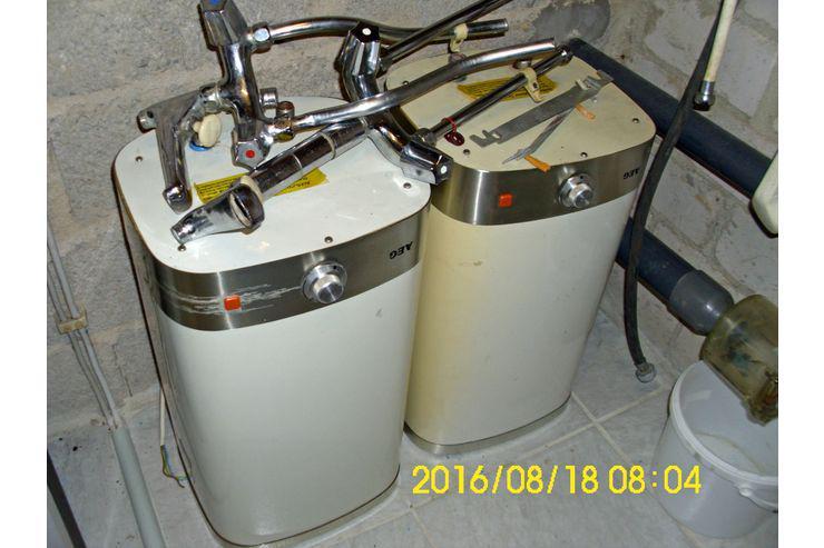 2 x AEG-Durchlauferhitzer