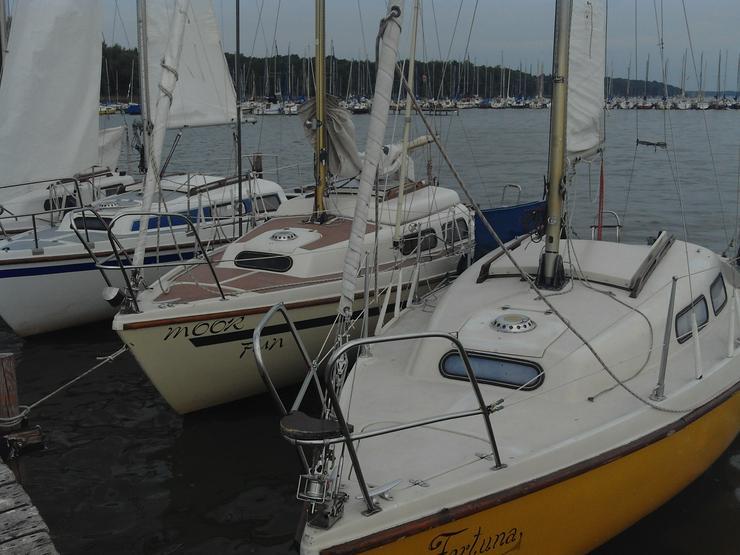 Bootsverleih Kielhorn / Steg N 21 - Geschenkgutschein 1 Tag Neptun 22 segeln auf dem Steinhuder Meer