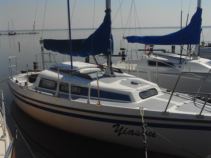 Bild 2: Bootsverleih Kielhorn / Steg N 21 - Geschenkgutschein 1 Tag Neptun 22 segeln auf dem Steinhuder Meer