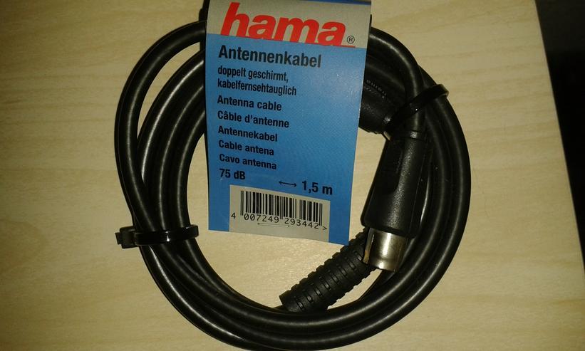 Antennenkabel + Kupplung-Koaxial