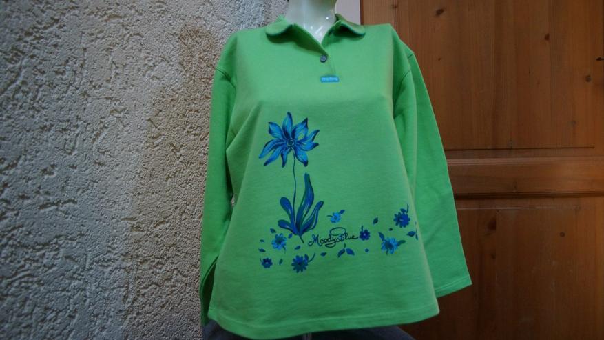 Sweatshirt, Gr. 152, apfelgrün, neu, Ding Dong