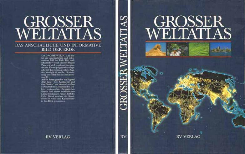 Buch - Grosser Weltatlas - Das anschauliche und informative Bild der Erde