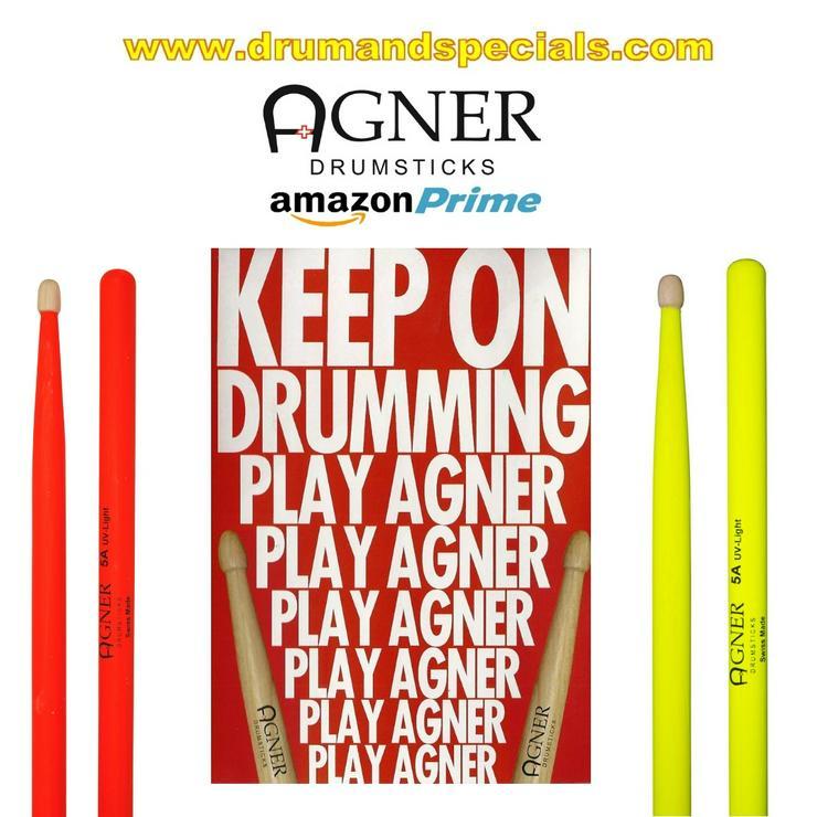 Agner Drumsticks UV Serie  - Schlaginstrumente - Bild 1