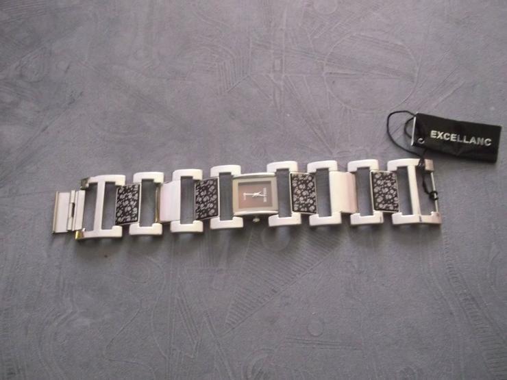 EXCELLANC Damenuhr Damen Uhr Armbanduhr Braun Uhren DHU-E 1BR 18 - Damen Armbanduhren - Bild 1