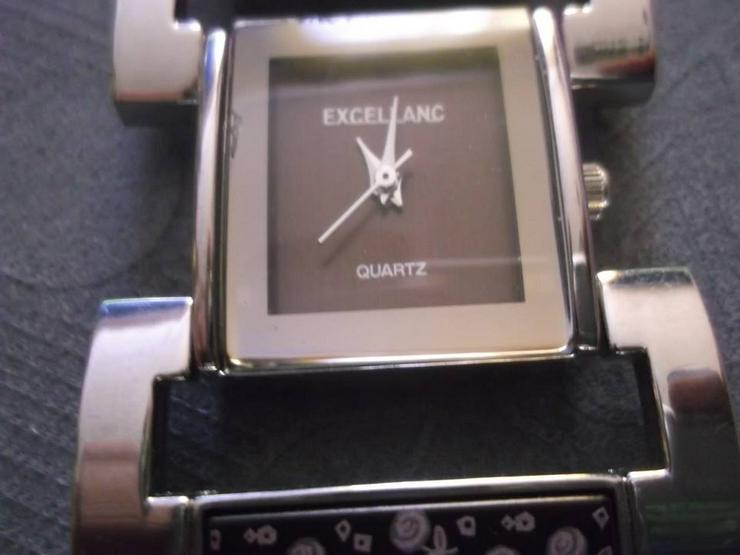 Bild 2: EXCELLANC Damenuhr Damen Uhr Armbanduhr Braun Uhren DHU-E 1BR 18
