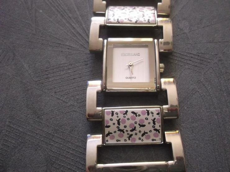 Bild 2: EXCELLANC Damenuhr Damen Uhr Armbanduhr Braun Uhren DHU-E 1SI 20