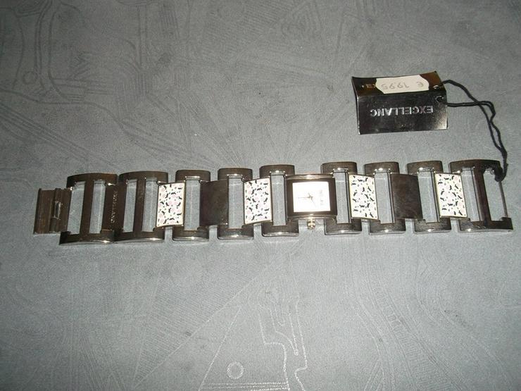EXCELLANC Damenuhr Damen Uhr Armbanduhr Braun Uhren DHU-E 1SI 20 - Damen Armbanduhren - Bild 1