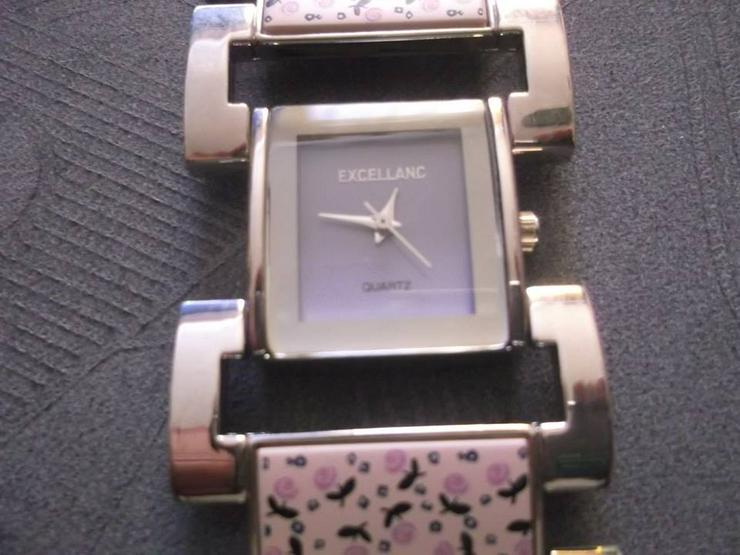 EXCELLANC Damenuhr Damen Uhr Armbanduhr Lila DHU-E 1LI 20 - Damen Armbanduhren - Bild 1