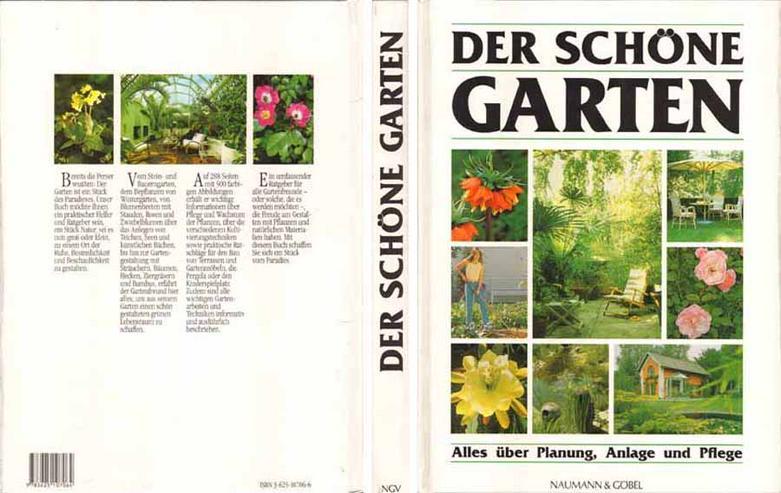 Buch - Der schöne Garten - Alles über Planung, Anlage und Pflege 1986