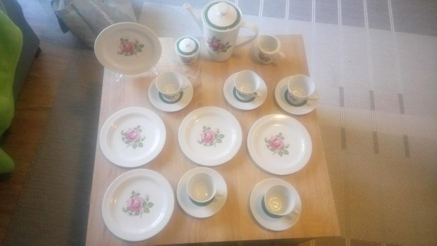 Winterling- wunderschönes, antikes Porzellan- Kaffee-Service