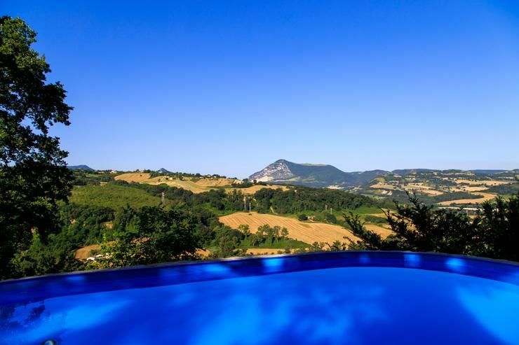 Ferienhaus für 4+6 Personen in Cupramontana /Marken/ Italien mit Pool