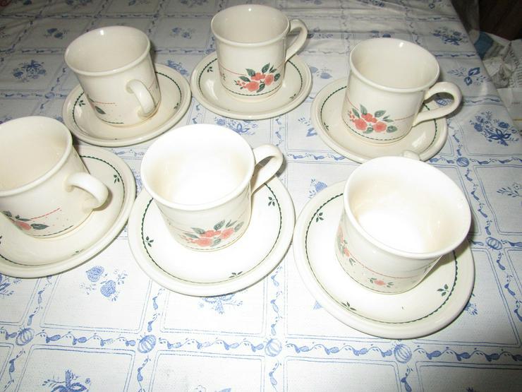 Kaffeegeschirr  ( Made in England )