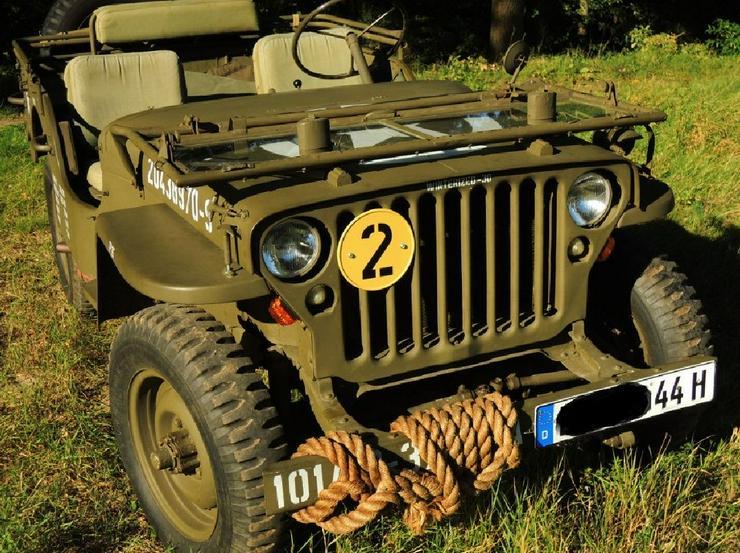 Bild 2: Jeep Willys Overland Militär
