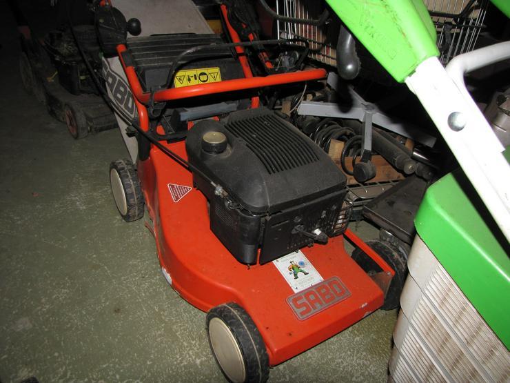 Bild 4: Günstige defekte oder reparaturbedürftige Qualitäts-Rasenmäher