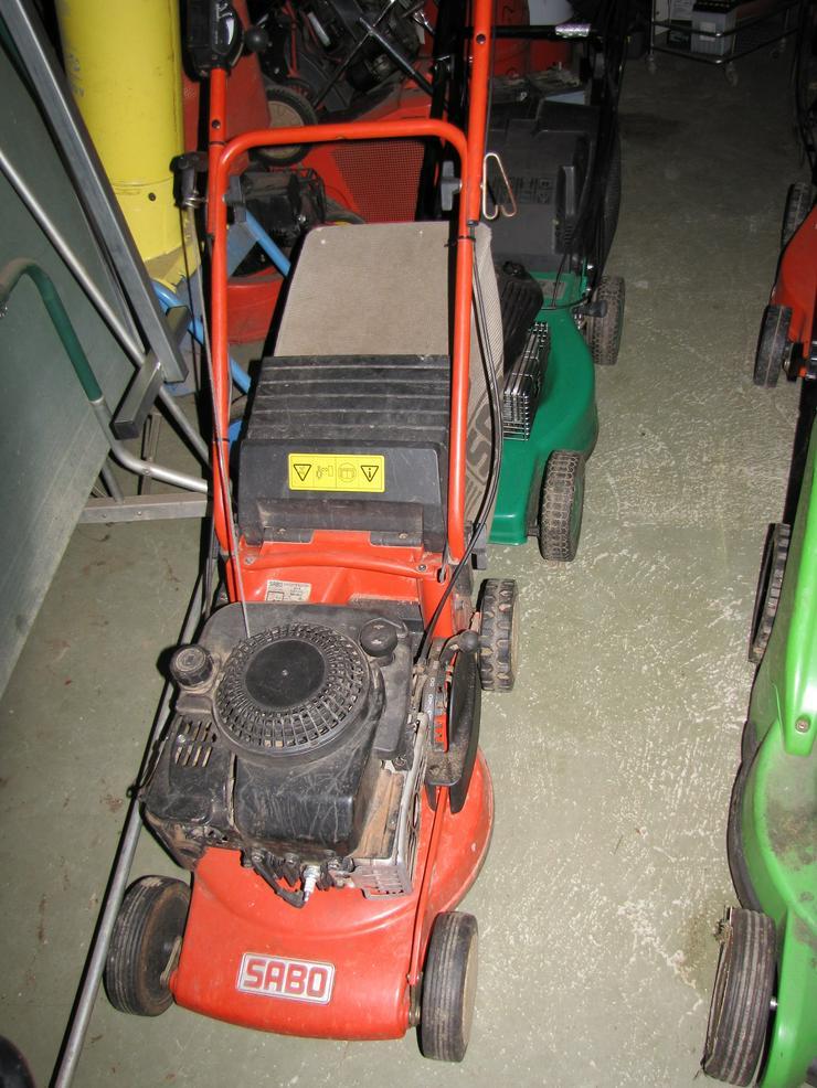 Bild 5: Günstige defekte oder reparaturbedürftige Qualitäts-Rasenmäher