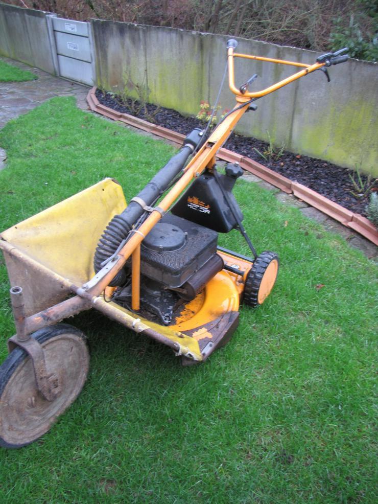 Bild 3: Günstige defekte oder reparaturbedürftige Qualitäts-Rasenmäher