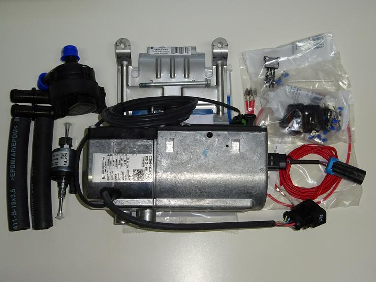 Eberspächer Standheizung VW T4 Umrüstkit von D3WZ zu 4kw Vorwahluhr Aufrüstsatz Aufrüstkit - Heizung, Lüftung & Klima - Bild 1