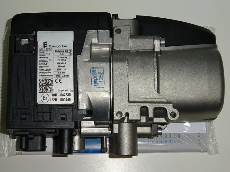 Standheizung Benzin Diesel Opel Peugeot Citroen Eberspächer Hydronic S3