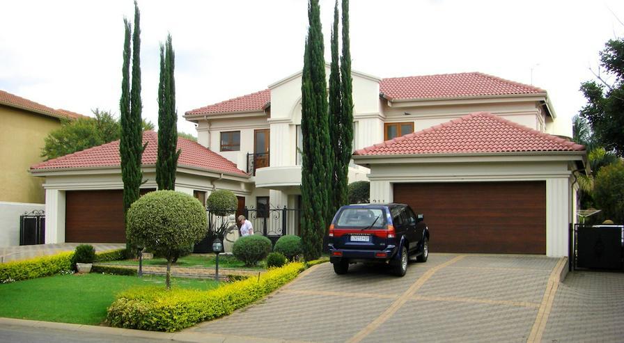 Pretoria, Hauptstadt Südafrikas: Wunderschöne, gepflegte Villa