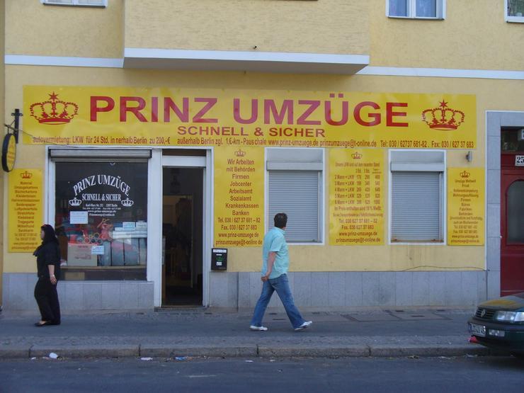 Sie suchen eine Umzugsfirma in Berlin und europaweit? Dann Prinz Umzüge