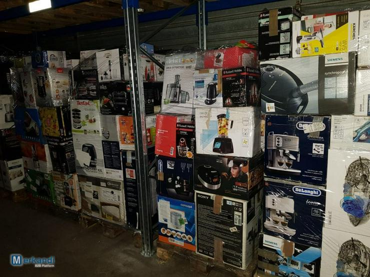 Elektrogeräte, Haushaltsgeräte, Mixpaletten, Palettenware, Retourware