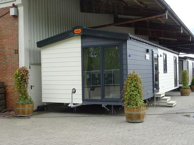 Mobilheim Nordhorn Senior WINTERAKTION! winterfest wohnwagen dauerwohnen caravan camping tiny house haus