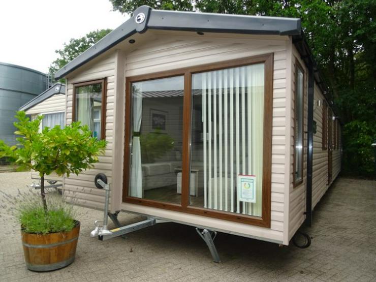 Mobilheim Nordhorn Swift Moselle WINTERAKTION winterfest wohnwagen dauerwohnen camping caravan tiny house