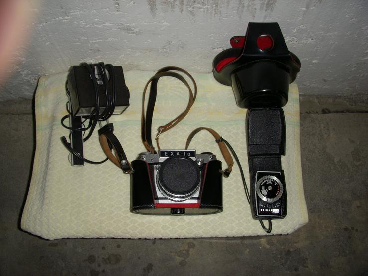 Liebhaberstück-60 Jahre/Spiegelreflexkamera Exa.1a. ! - Analoge Kompaktkameras - Bild 1