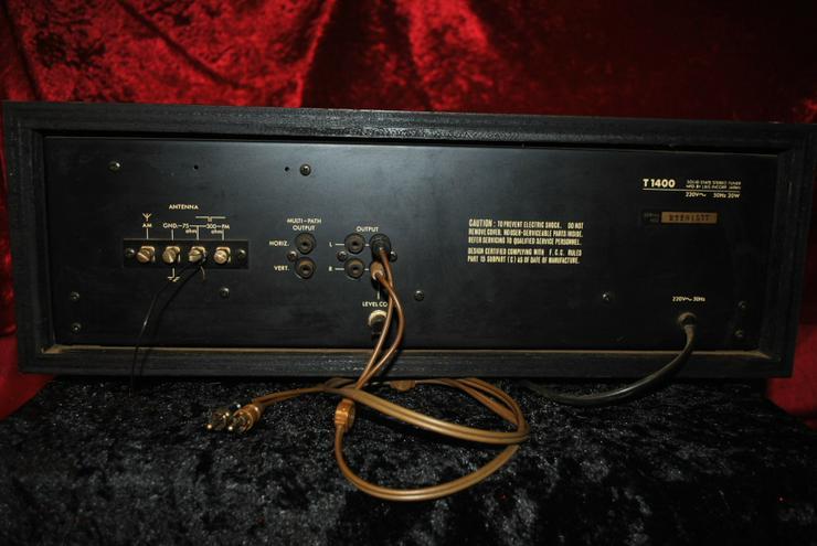 Bild 4: L&G Solid State AM/FM Stereo Tuner T1400 Luxman / Ersatzteilspender