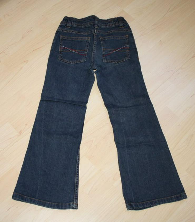 Bild 3: Lange Mädchen Jeans Hose Kinder Jeanshose lang dunkelblau 122 NEU