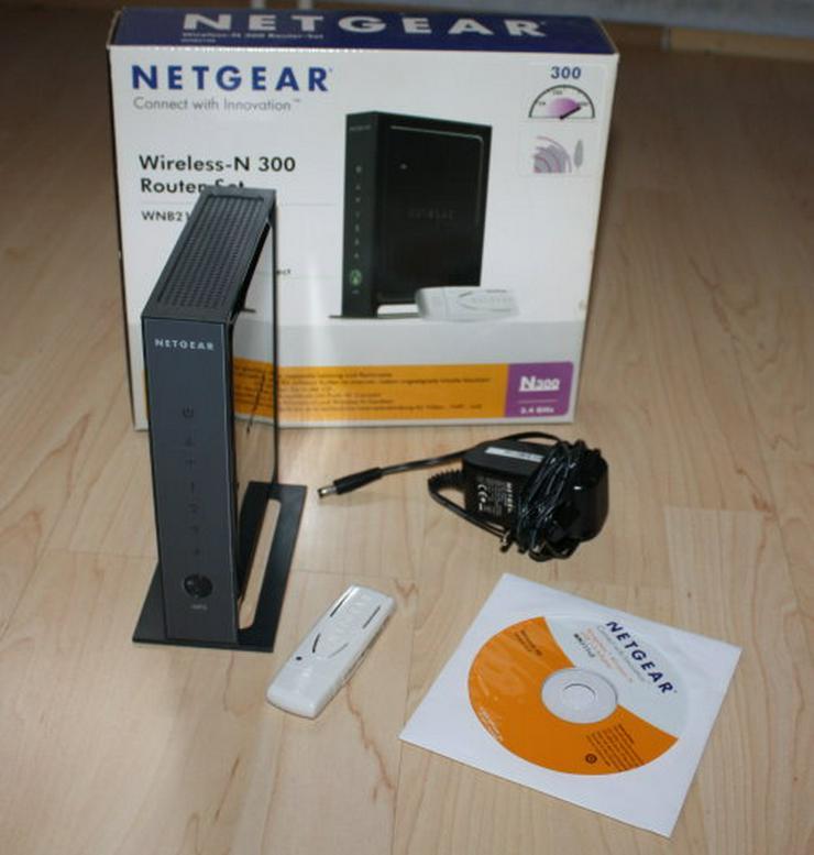 Netgear Wireless-N 300 Router WNB2100-100GRS WLAN 300MBit/s 4Port