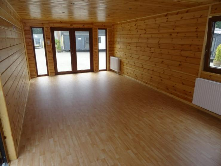 Bild 6: Mobilheim Nordhorn Holz Saune WINTERRABATT winterfest wohnwagen dauerwohnen camping caravan tiny house haus