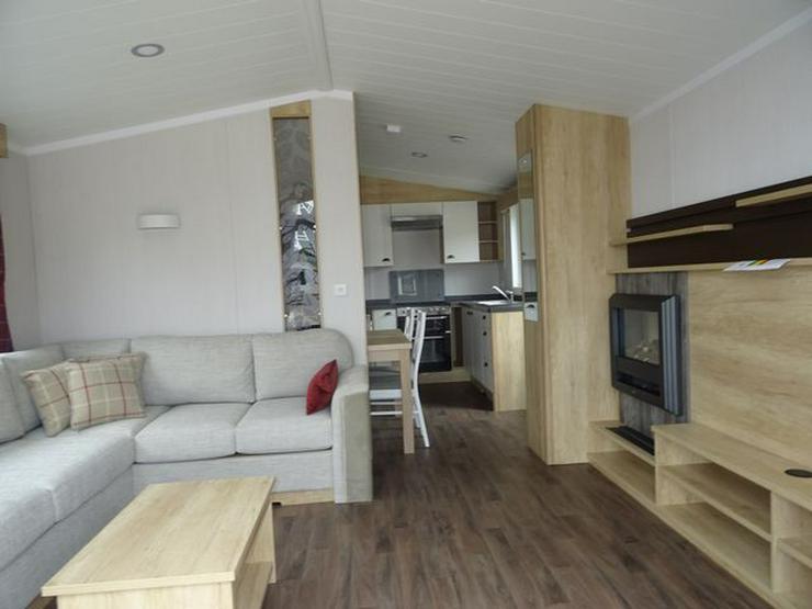 Bild 3: Mobilheim Nordhorn Swift Biarritz Lodge WINTERAKTION winterfest wohnwagen dauerwohnen caravan camping tiny house haus