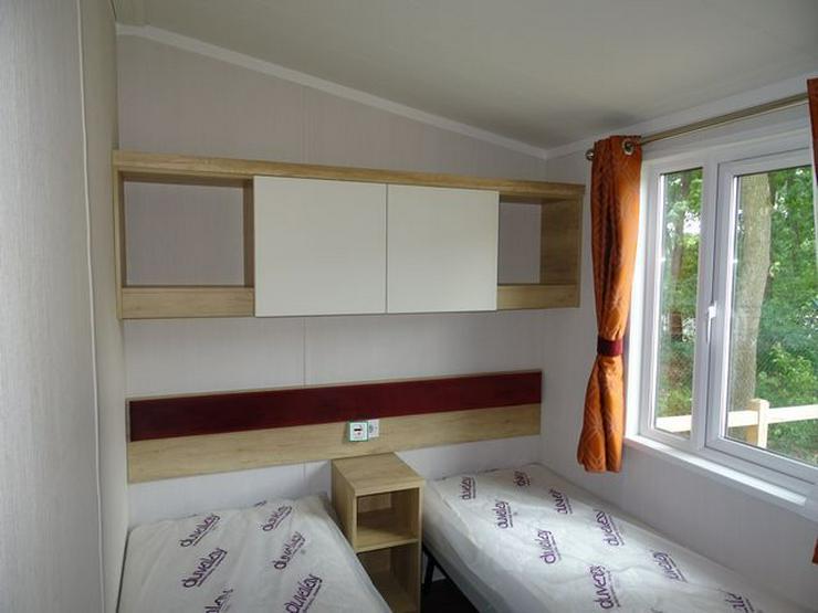 Bild 6: Mobilheim Nordhorn Swift Biarritz Lodge WINTERAKTION winterfest wohnwagen dauerwohnen caravan camping tiny house haus