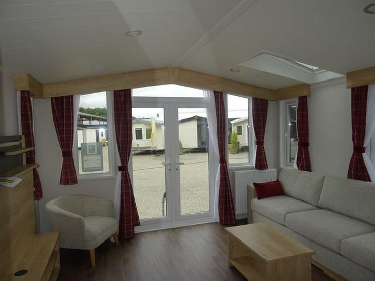 Bild 2: Mobilheim Nordhorn Swift Biarritz Lodge WINTERAKTION winterfest wohnwagen dauerwohnen caravan camping tiny house haus