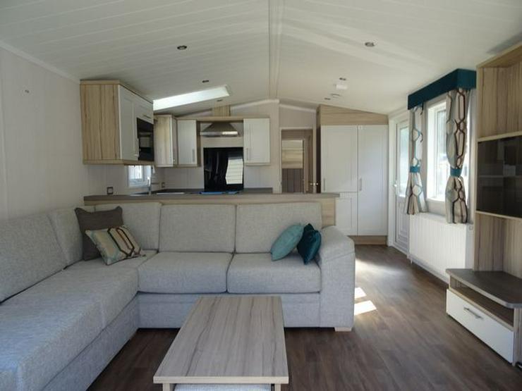 Bild 3: Mobilheim Nordhorn Swift Moselle Lodge winterfest wohnwagen dauerwohnen caravan camping tiny house haus