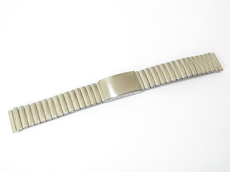 Bild 2: Armband, Armbänder, Flexband, Flexoband, Zugarmband, Silber fbg. Steg 20 mm TCM-01