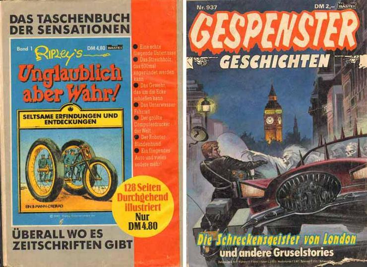 Zeitschrift - Gespenstergeschichten Nr. 937 - Bastei Comic
