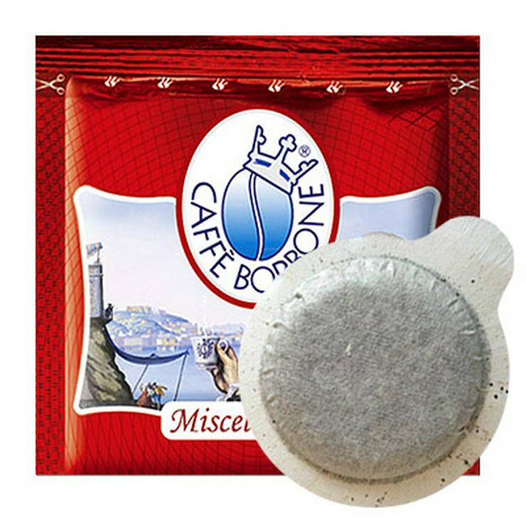 Cafe Borbone 150 Cialde Ese miscela Rossa + Kit