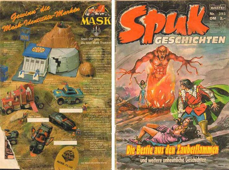 Comic / Zeitschrift - Spuk Geschichten - Bastei Nr. 393