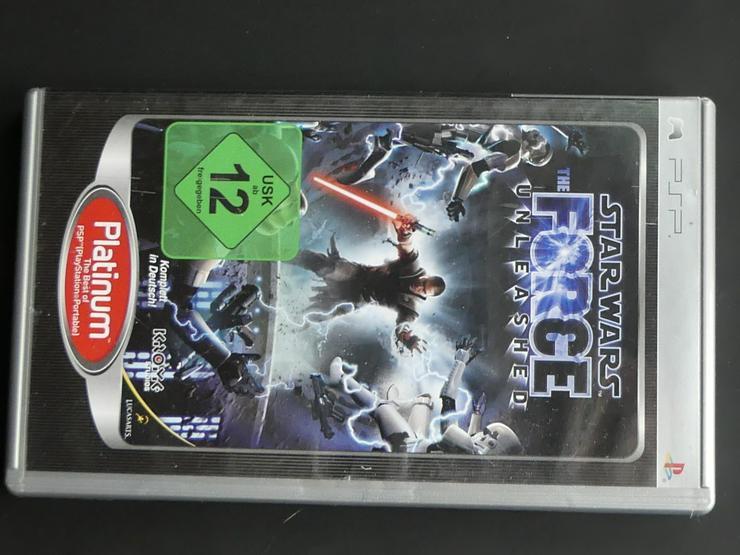 Star Wars the Force unleashed (auch zu verschicken)